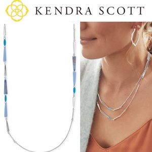 Kendra Scott Aylin Gold or Silver Long Necklace